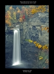 Ken Blye was kind enough to produce a reunion poster showing Taughannock Falls. Everyone at the reunion received one of