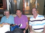 Gene Coggshall, Dick Dropkin, Bob Garmise...they've known each other for almost 60 years!