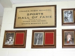 The Wall of Fame for sports. Virtually everyone there is from the Class of 1962. Well, almost all. Maybe one or two.