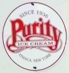 The Purity Ice Cream sign. Probably the most famous place in the whole region, especially when the temperature approache