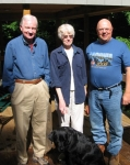 June 20, 2008: Hap found Curt Ley and Pat (Smith) Ley in New Hampshire at their weekend home. They also have homes for o