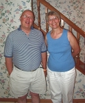 July 13, 2008: Hap and Eleanor have a great time together. Hap moves in for a few weeks.