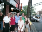 July 25, 2008: Wow! Pat Gray's sister, Angela Fromny, shows up. Bob and Terri's daughter, Ashley, joins them. It's pa