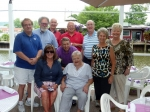 Our Reunion Committee - Bob Fabbricatore, John Novarr, Darlene Lynch Klein, Tom McCarthy, Dick Dropkin, Hap Gray, Rita R