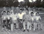 The 1955 Belle Sherman Jocks. The best team ever produced by the school in history! From left to right - Top row: Jimmy